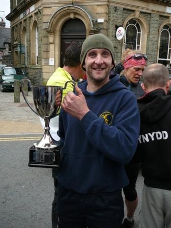 Cadair 2013 Ifan with his Cup
