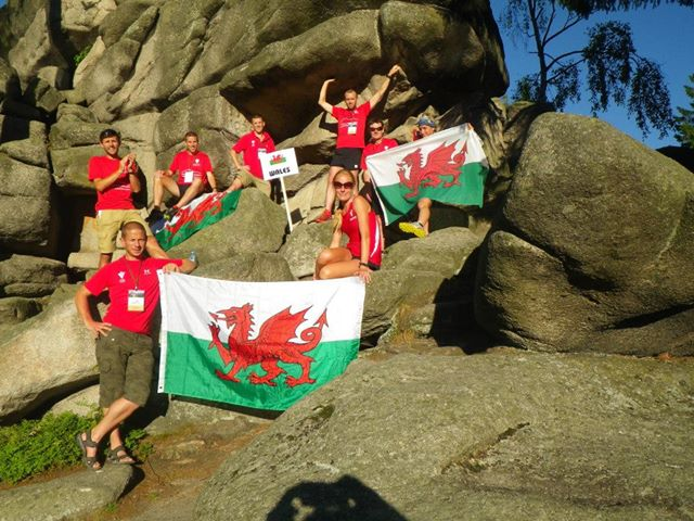 poland Glyn Griffion and Welsh team 2013
