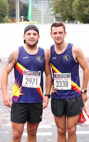 cardiff half tom and gwion roberts 2017